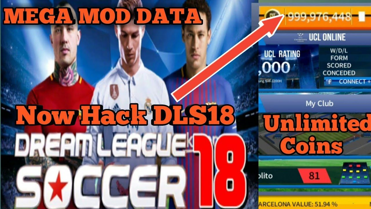 Dream League Soccer 2018 Hack How To Get Get Free Coins For Dream