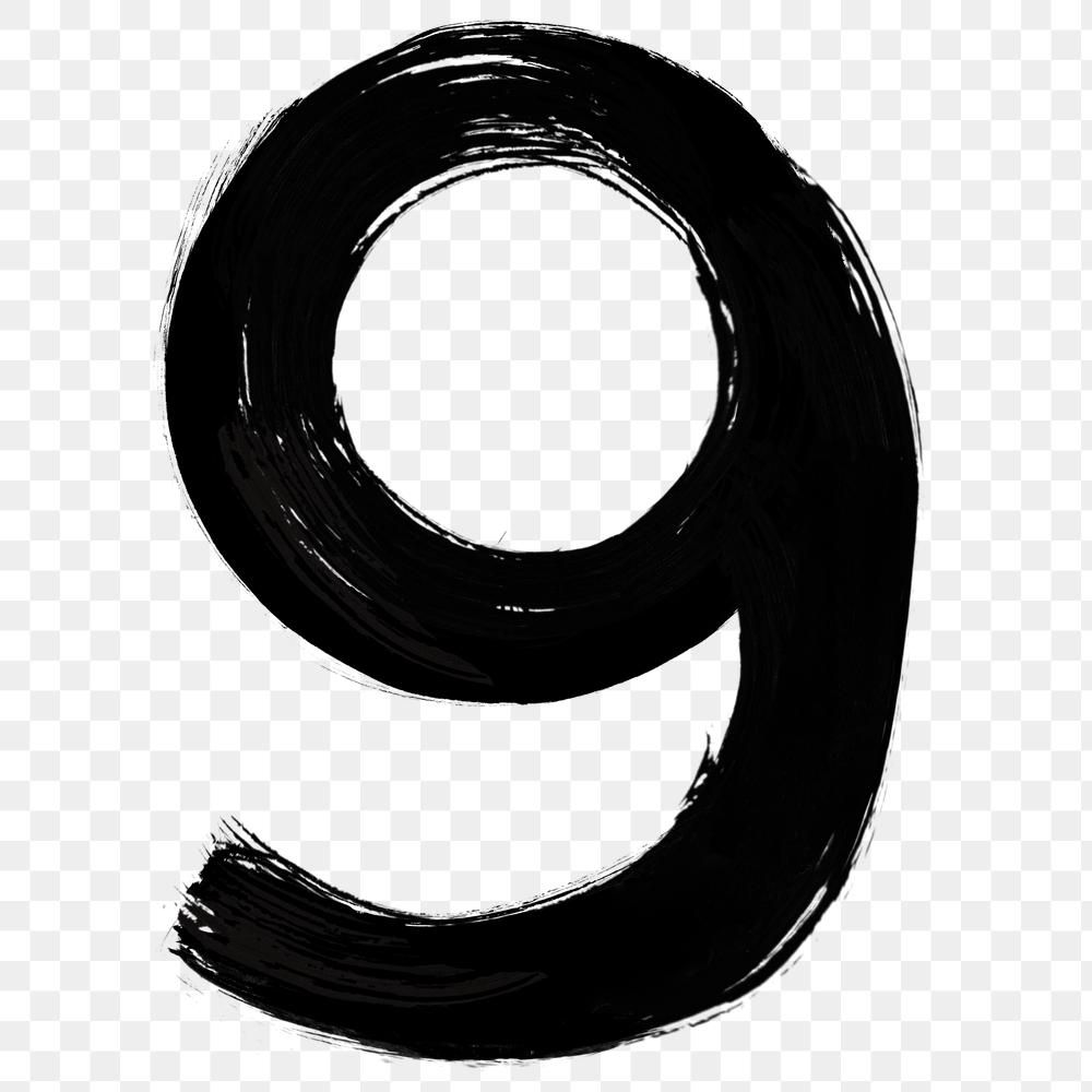 Number 9 Png Grunge Hand Lettering Typography Free Image By Rawpixel Com Mind Numbers Typography Hand Lettering Typography