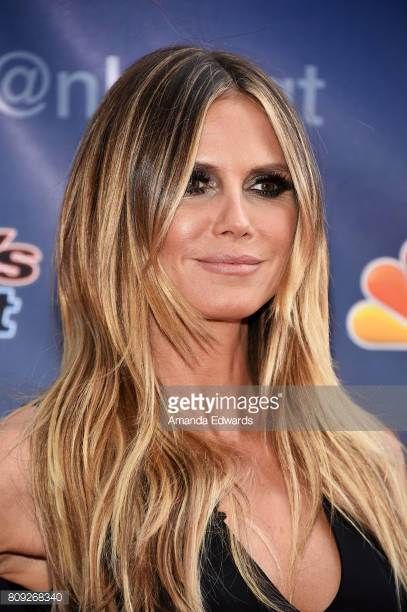 Heidi Klum Hair Americas Got Talent Gorgeous Best Hair Color