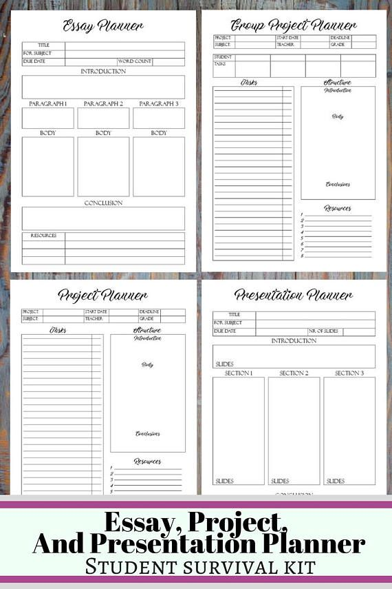 college student printable planner 2018 2019 back to school planner