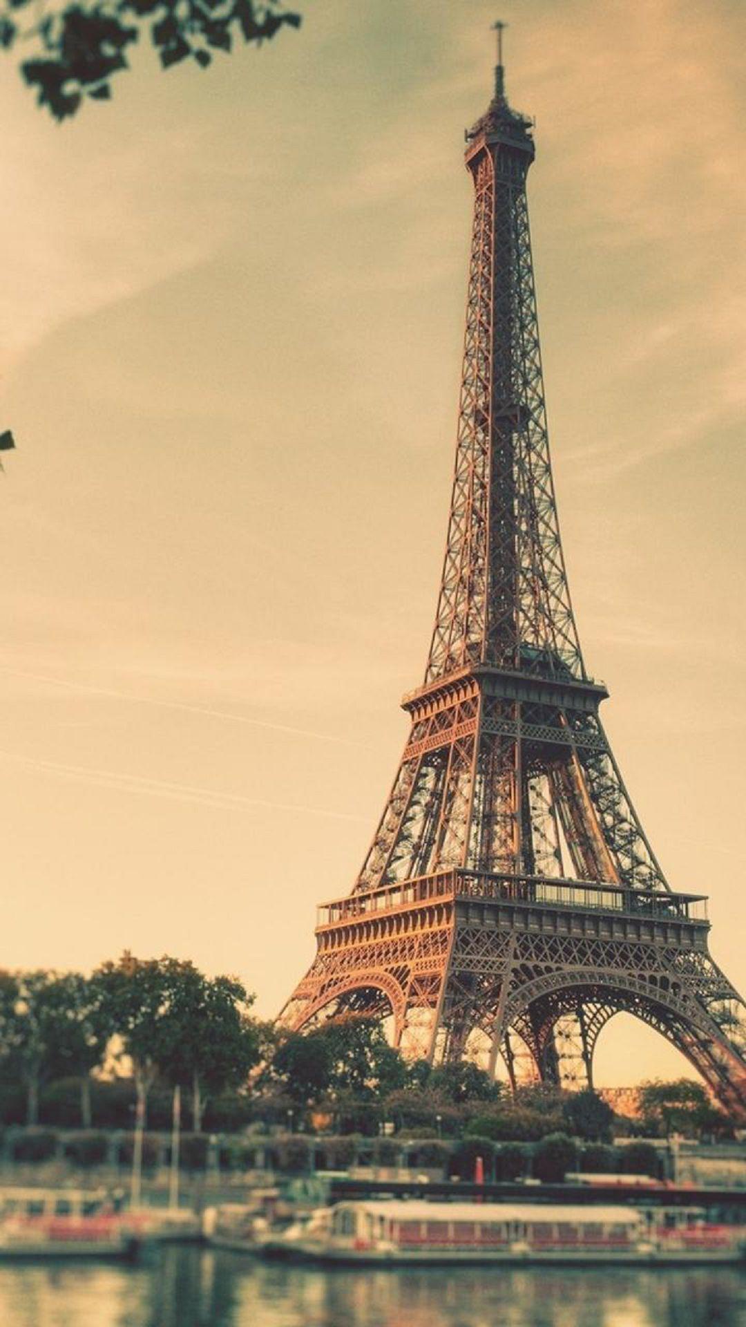 Eiffel Tower Paris Sunrise Tilt Shift | HTC One wallpaper | Pinterest