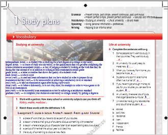 الإنجليزي ثالث ثانوي نظام المقررات الفصل الدراسي الثاني In 2020 Study Plan How To Plan Vocabulary