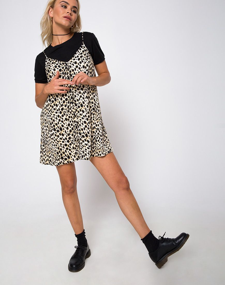 ec01369c0ecb Sanna Slip Dress in Cheetah by Motel in 2019 | Clothes and ...