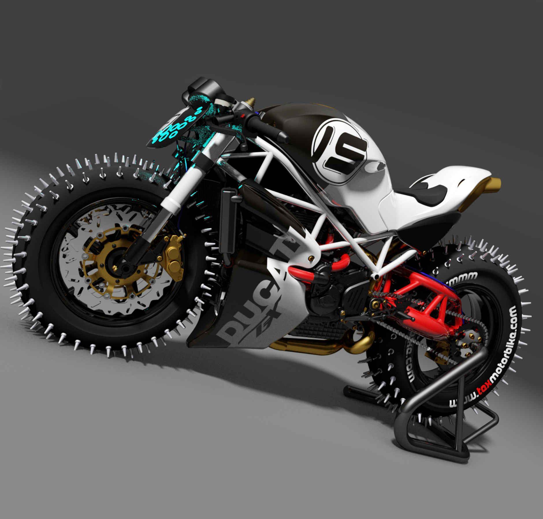 Монстры мотоциклы картинки