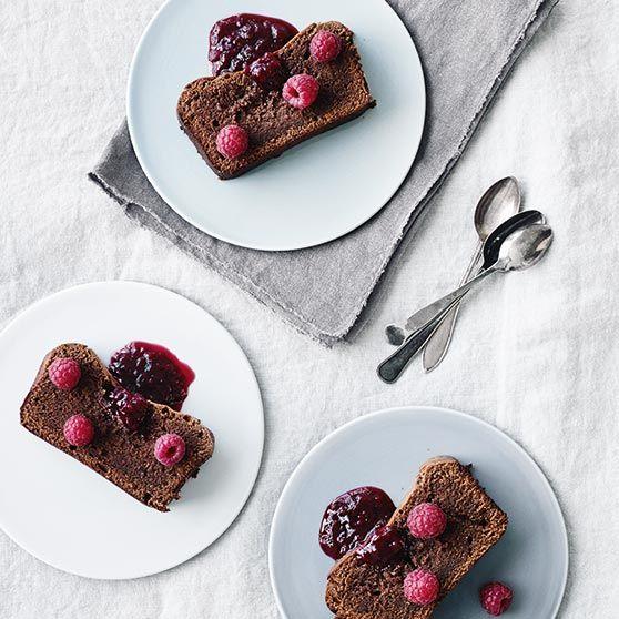 Luftig chokoladekage