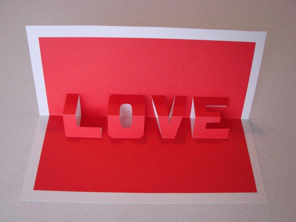 Днем рождения, как сделать открытку с объемными буквами
