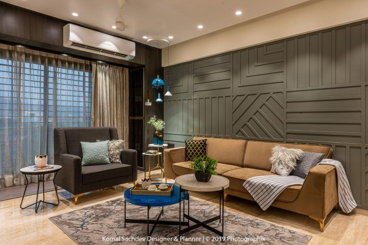 The Geometric Adobe Apartment Interiors Komal Sachdev Designer
