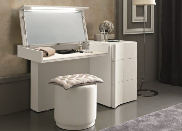 Furniture Modern Dressing Table With Drawer White A Modern Dressing Table To…