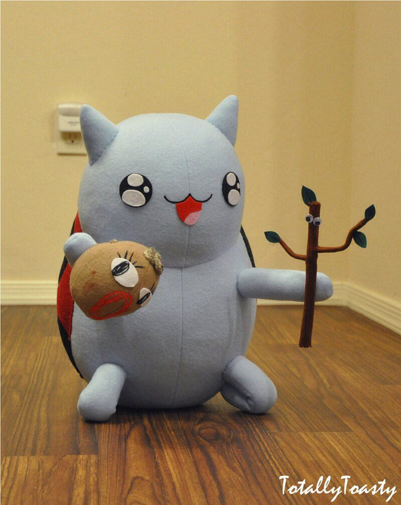 dramabug catbug plush bravest warriors by hiyoko chan on