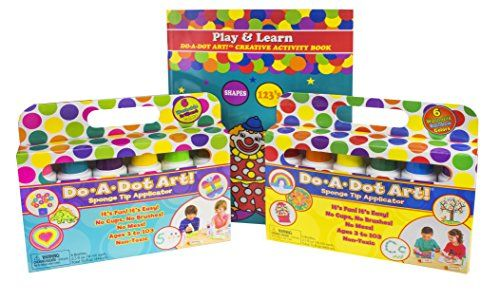 Amazon com: Do A Dot Art Marker Rainbow 6-pack: Toys & Games | Gift