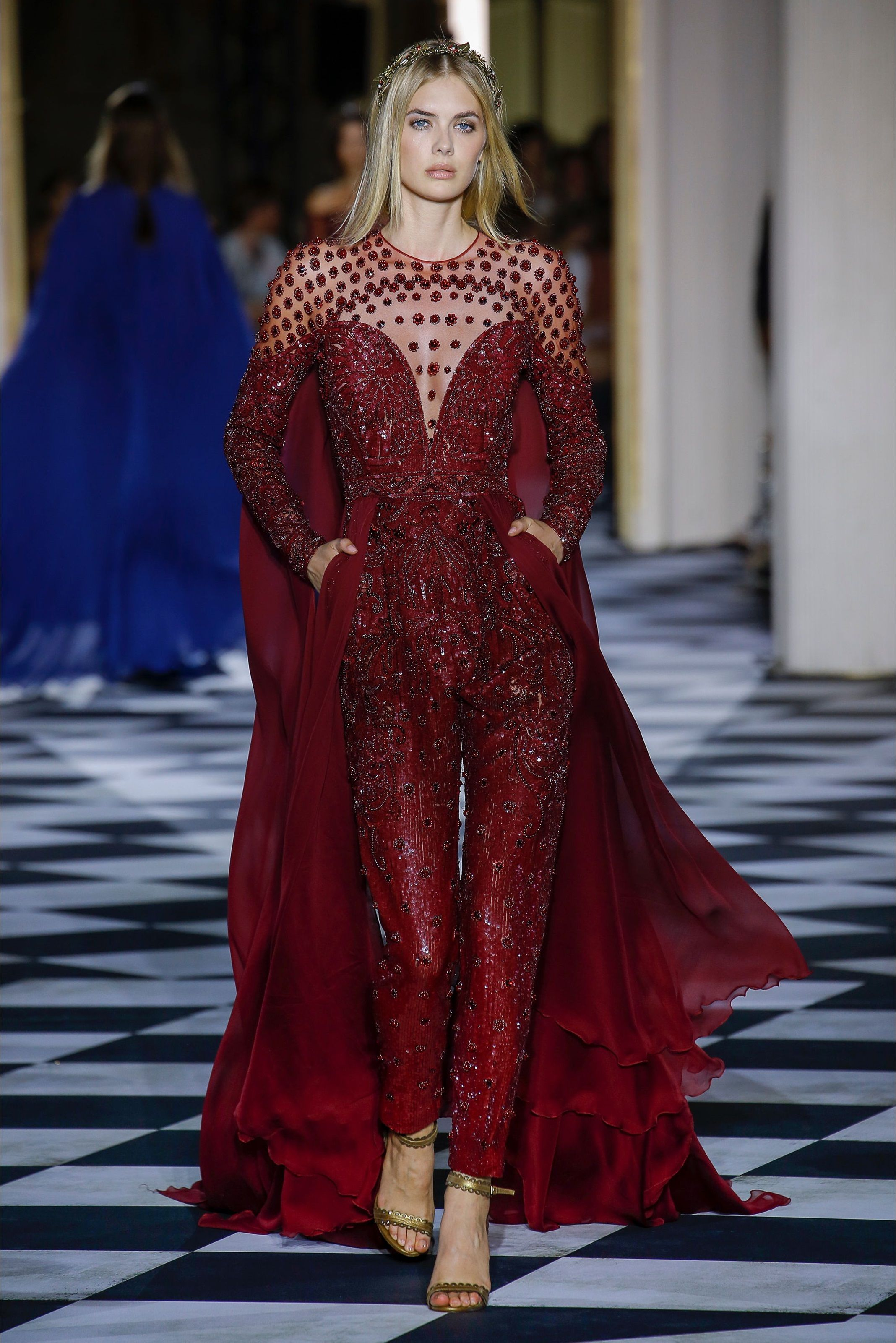 Sfilata Zuhair Murad Parigi - Alta Moda Autunno-Inverno 2018-19 - Vogue 4b25090e2c7