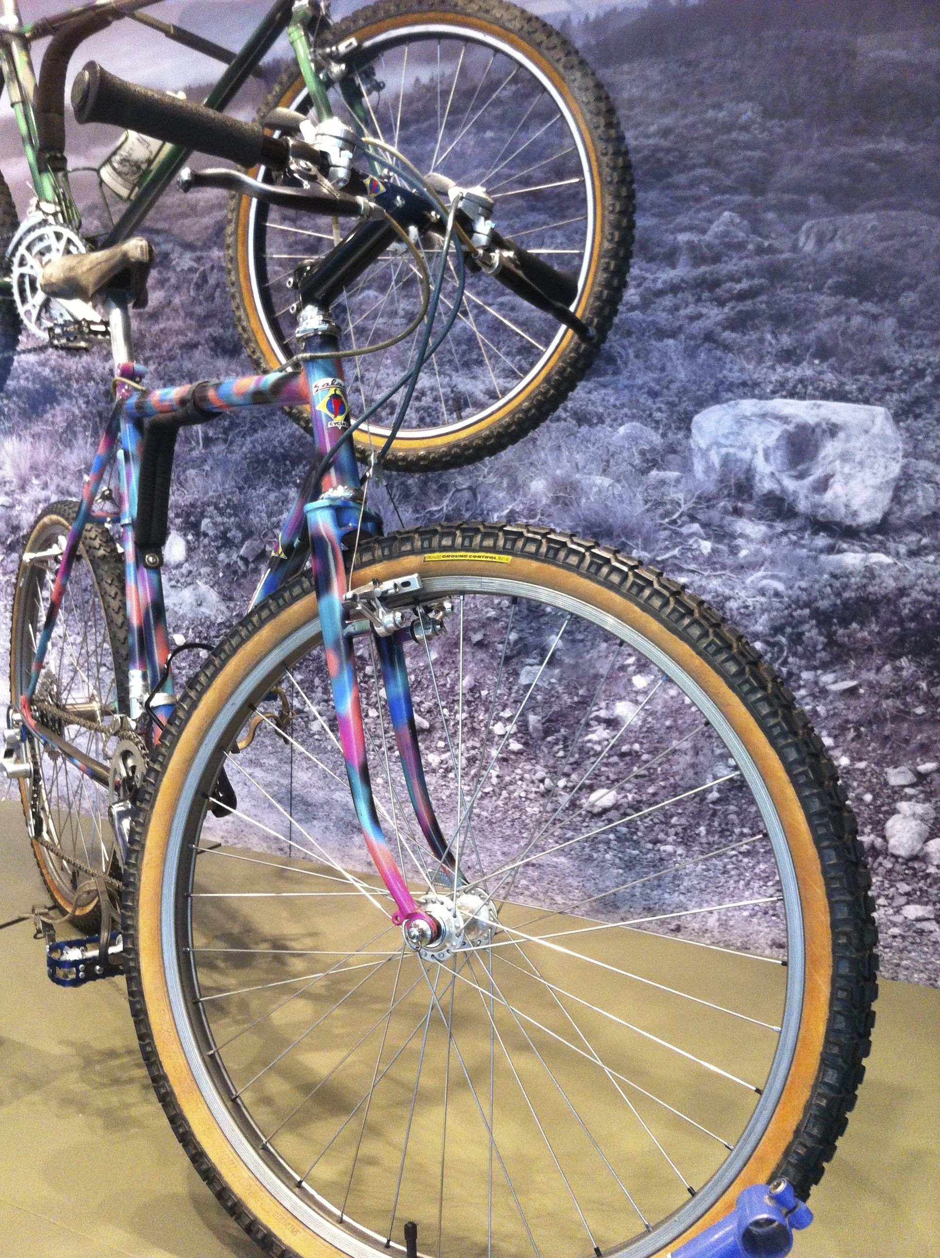 Salsa Mountain Bike Pooftaflage paint job from the SFO Exhibit that ...