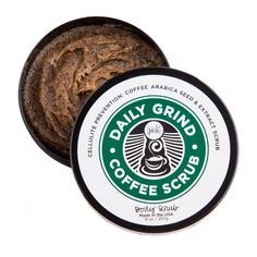 Fresh coffee grounds exfoliate, smooth, and energize your skin with their natural caffeine, reducing the appearance of cellulite and cleansing your pores. This freshly brewed body scrub is just as good as your favorite latte.