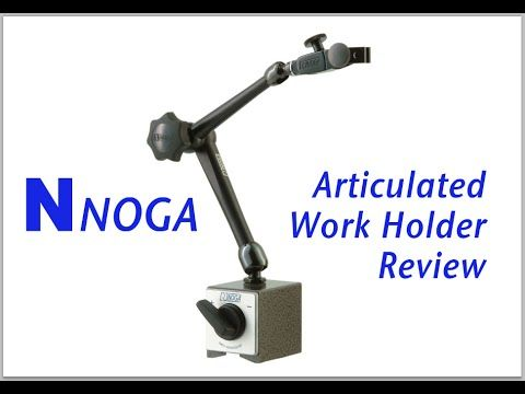 Noga Articulated Work Holder - Review - YouTube