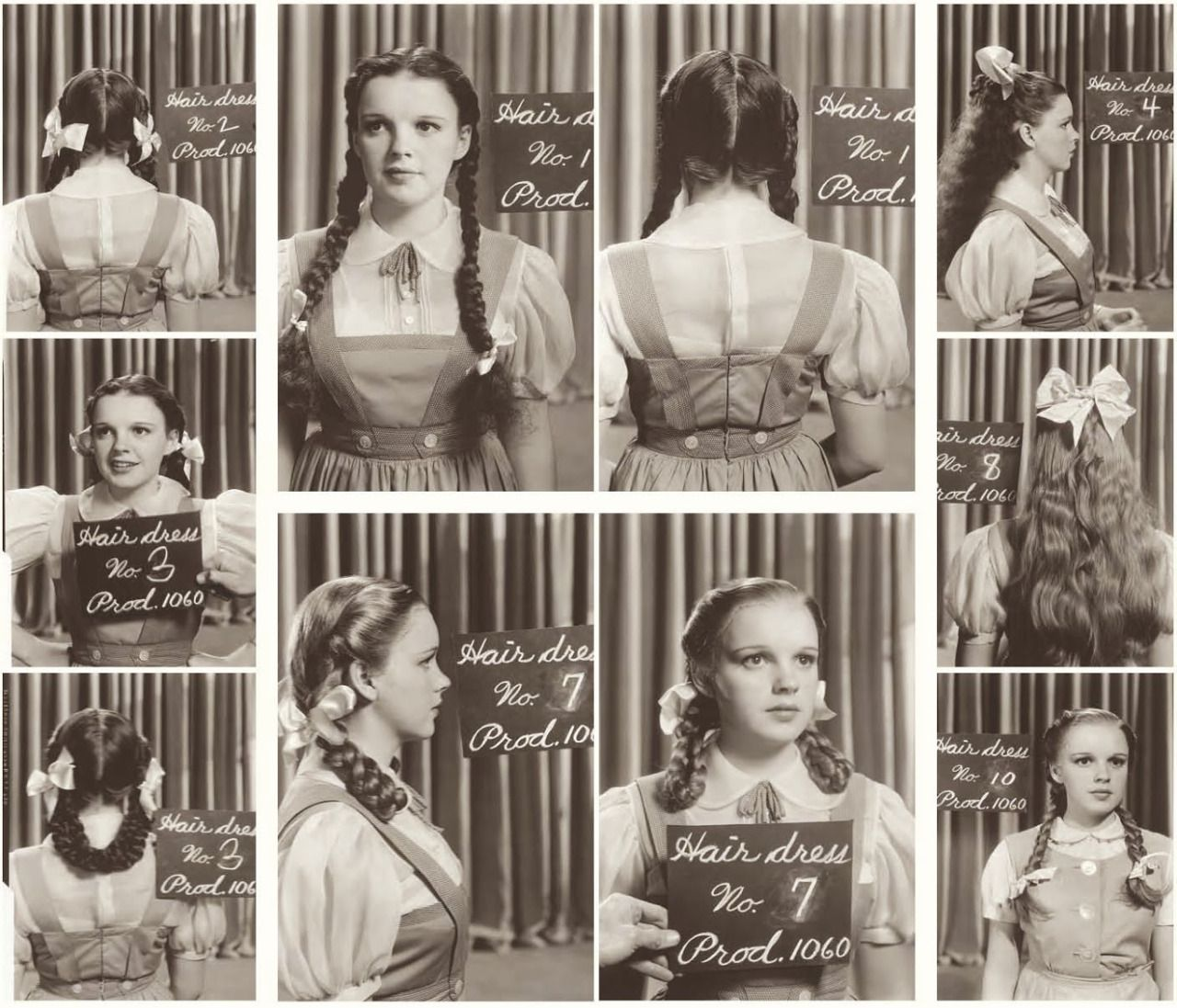The Intersection Point Judy Garland Hair And Costume Tests For The Wizard Wizard Of Oz Judy Garland The Wonderful Wizard Of Oz