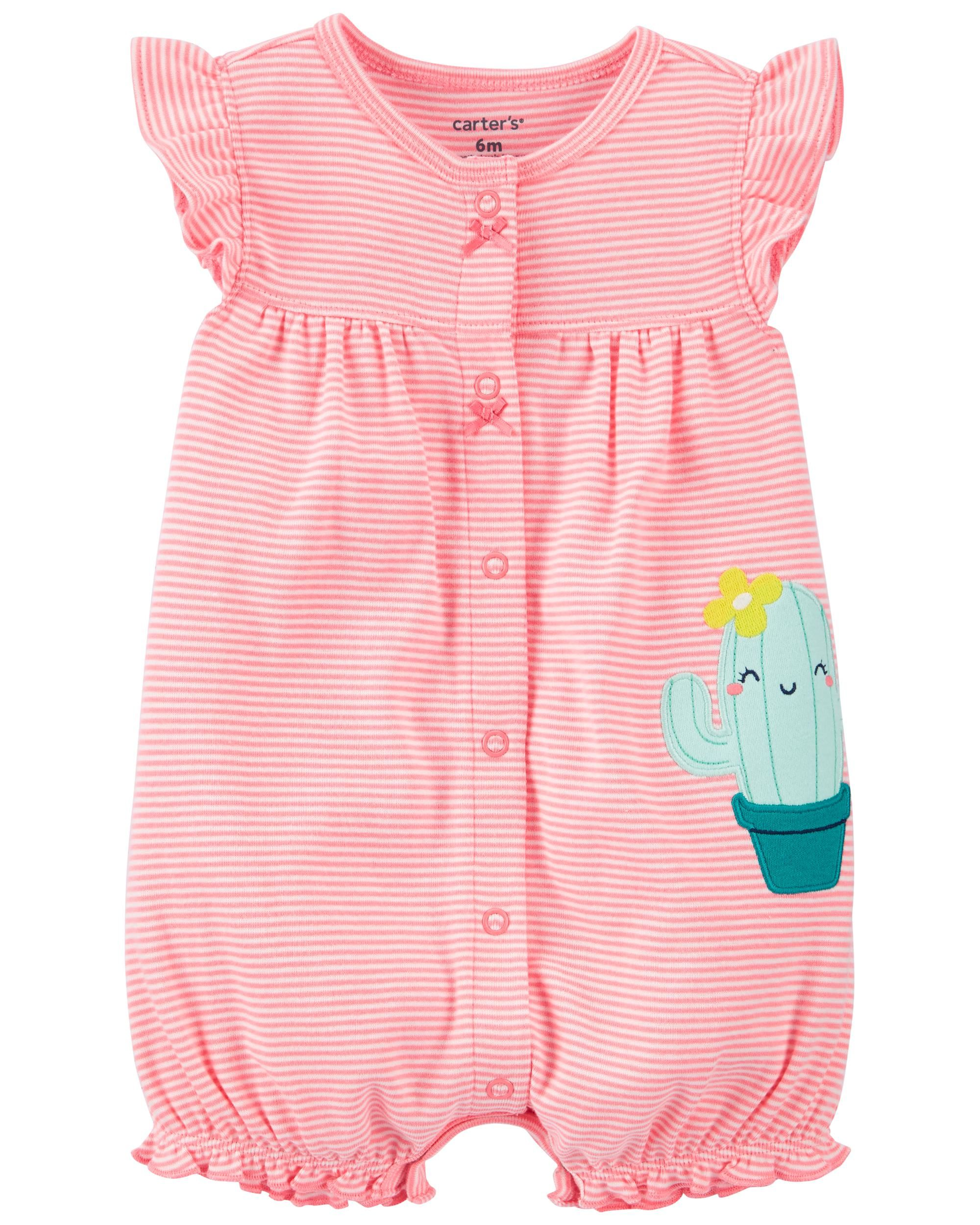 Cactus Snap-Up Romper  Carters baby clothes, Carters baby girl