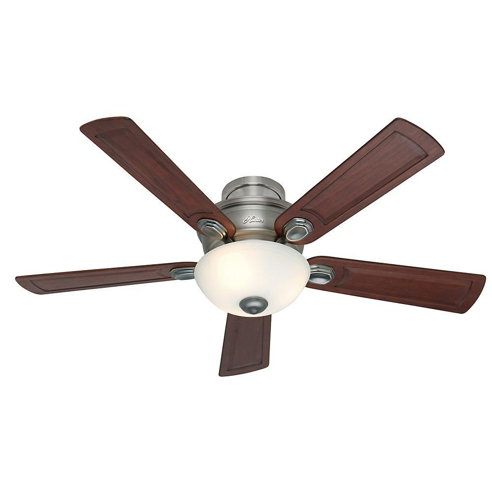 Hunter Princeton 52 In Bronze Patina Indoor Ceiling Fan 28783 The Home Depot Ceiling Fan Antique Pewter Painting Ceiling Fans