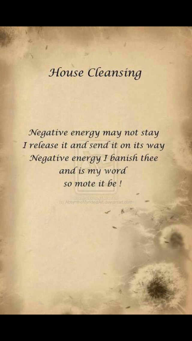 Prayers for cleansing | Stuff to buy | Pinterest | Clean house ...