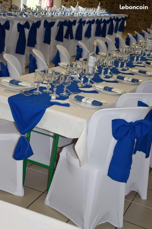 Housse de chaise et decoration mariage Azul Pinterest Azul