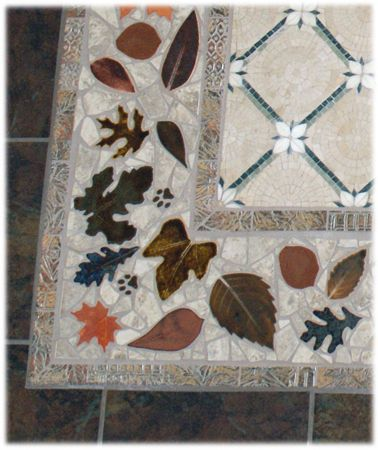 Decorative Ceramic Tile Hand Made Tiles For Custom Floors And Floor