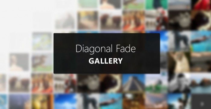 Smooth Diagonal Fade Gallery with CSS3 Transitions | Coding