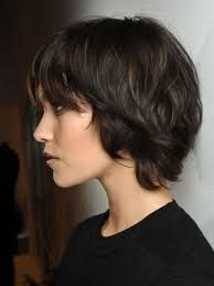 Image result for brown hair short messy cut