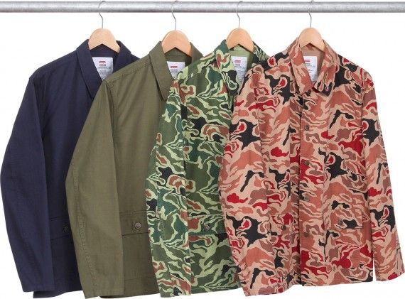Supreme   Spring/Summer 2013 Outerwear Collection