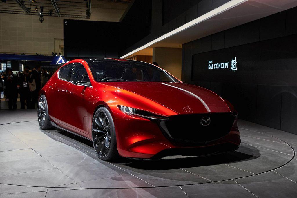 Mazda Kai Concept Mazda 3 Hatchback Mazda Mazda 3