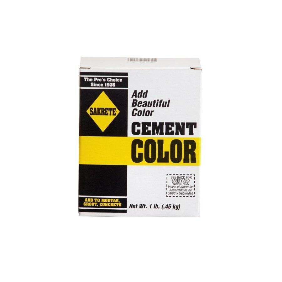 Sakrete Black Cement Color Mix Lowes Com In 2020 Cement Color Concrete Color Color Mixing