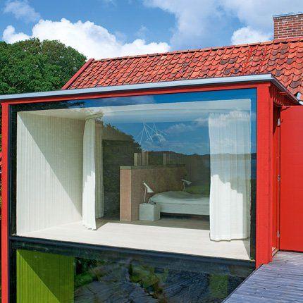 En Suède, une maison du0027architecte dans un pur esprit scandinave - peindre une facade de maison