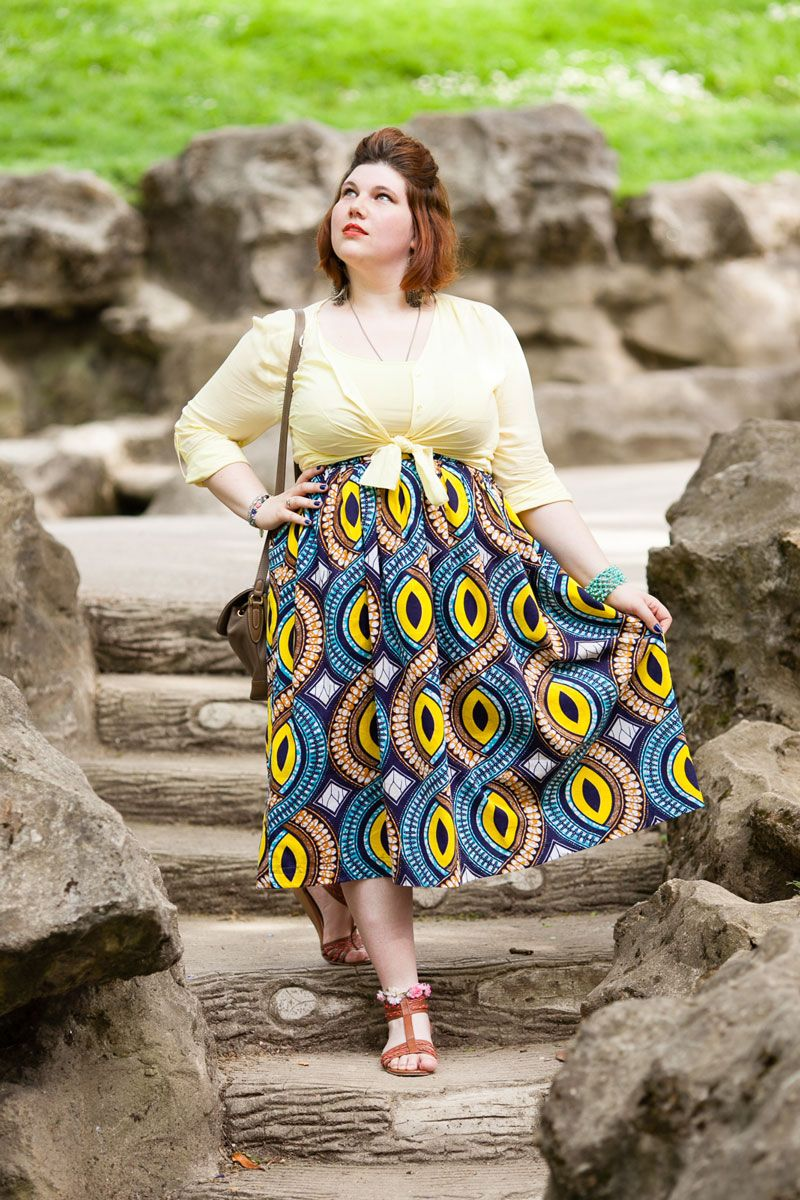 wax grande taille ninaah bulles fashion plussize diy ethnique african print my outfits. Black Bedroom Furniture Sets. Home Design Ideas
