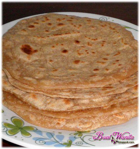 resepi mudah roti capati menggunakan sukatan cawan rasa resep masakan resep makanan Resepi Roti Farina Enak dan Mudah