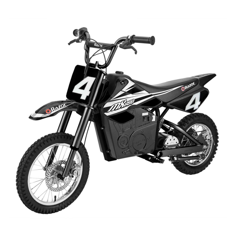 Razor Mx650 Dirt Rocket High Torque Electric Motocross Dirt Bike 17 Mph Black Dirt Bikes For Kids Electric Dirt Bike Electric Motorbike