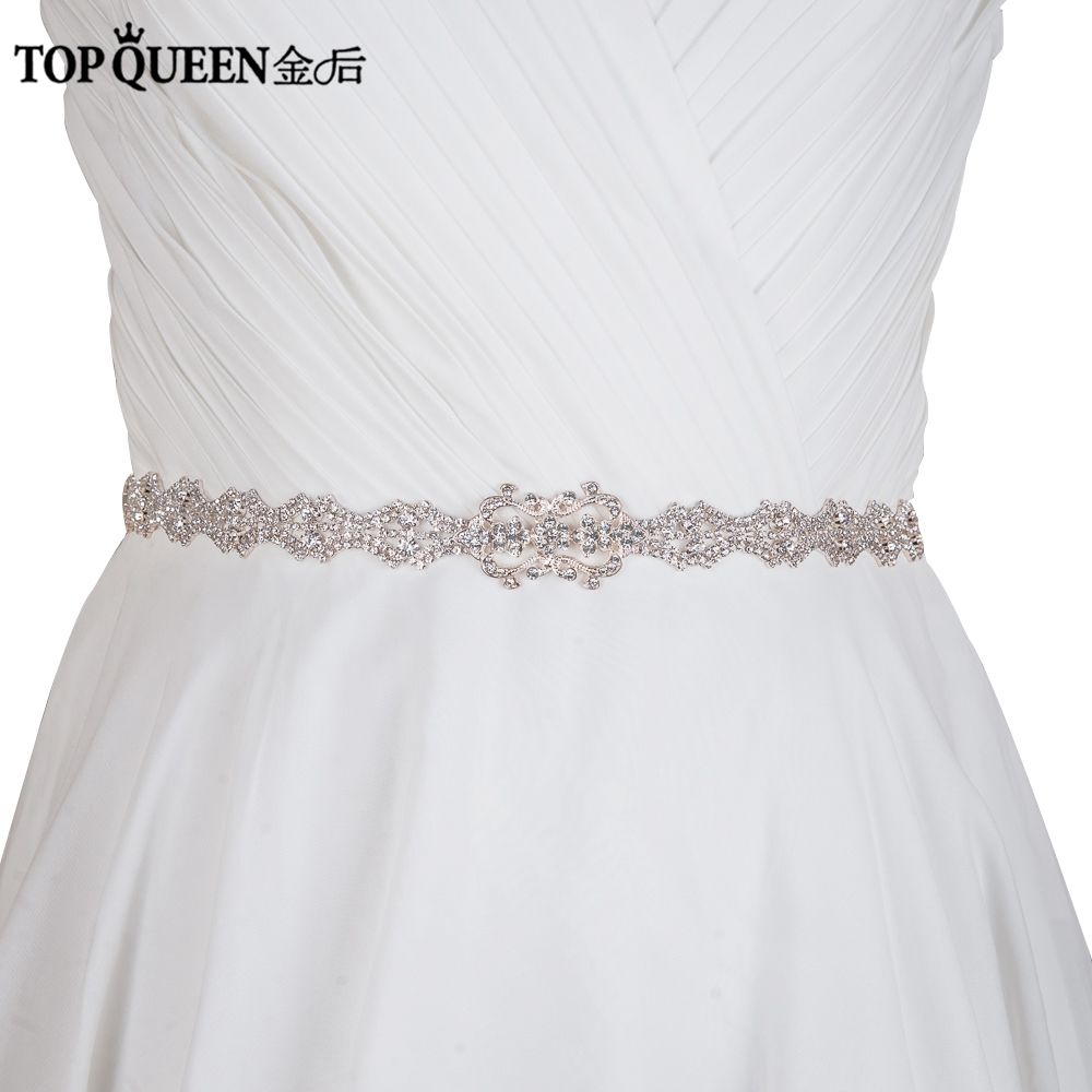 Topqueen free shipping hot selling s rhinestones wedding belts