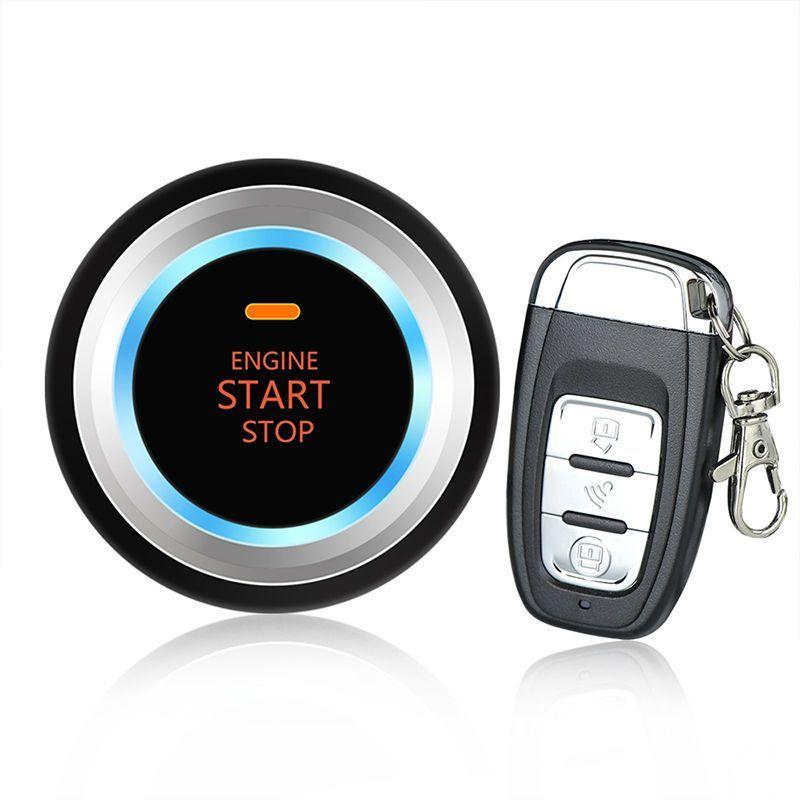 Car Alarm System Remote Control Audible Alarm Remote