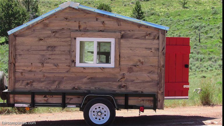 Couple Built Micro Camper Turned Into Builders And Ended Up In A