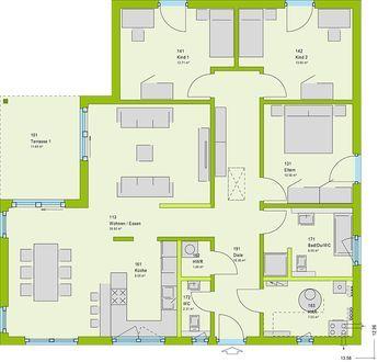 Massa haus lifestyle 33 v3 h user pinterest for Wohnzimmer 33 qm