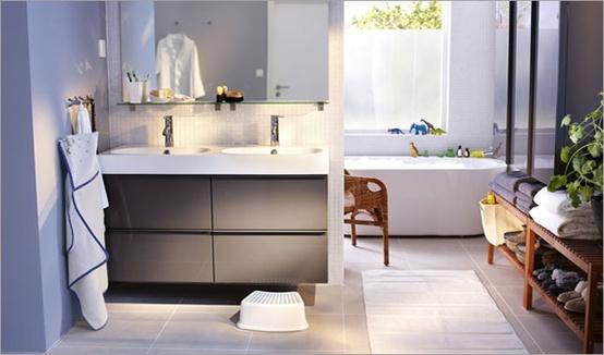 ikea godmorgon with white floors - Google Search | Master Bath ...
