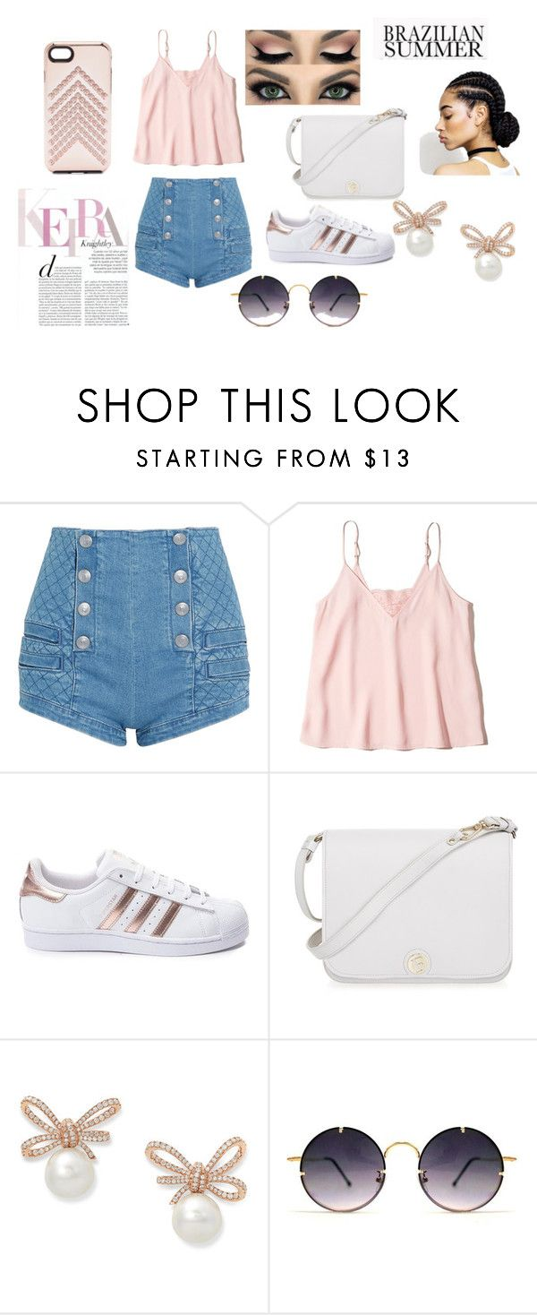 """""""Summer"""" by short-stuff25 ❤ liked on Polyvore featuring Pierre Balmain, Hollister Co., adidas, Furla, Spitfire and Rebecca Minkoff"""