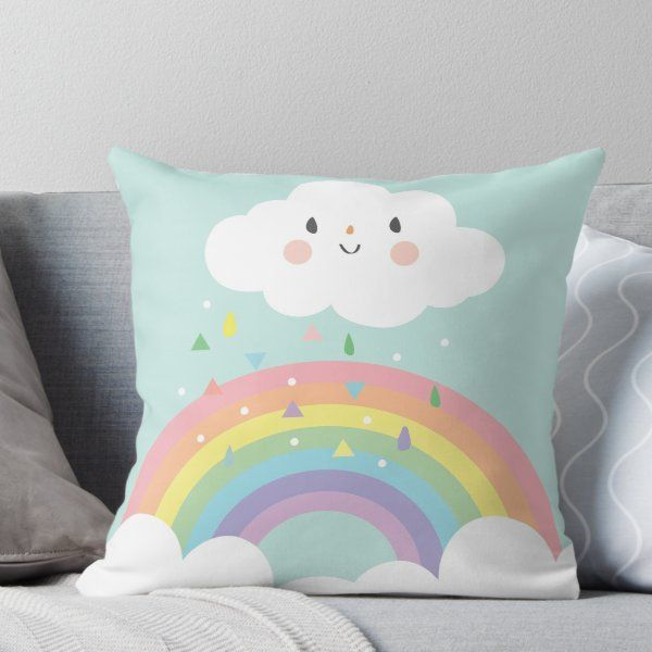 'Rainbow Happy Little Cloud Pastel Rain and Sunshine Baby ...