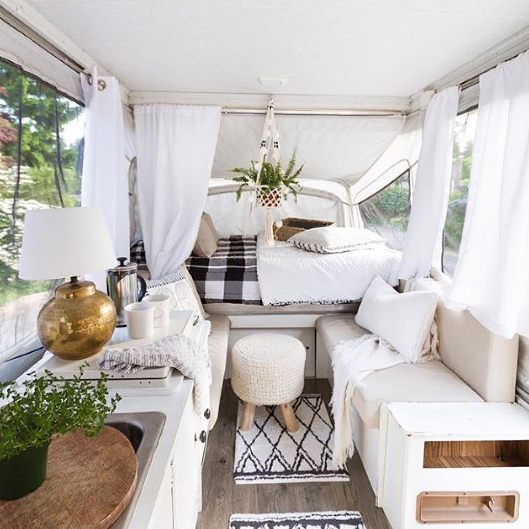 Small camper interior  likes  comments  poppytalk poppytalk on instagram