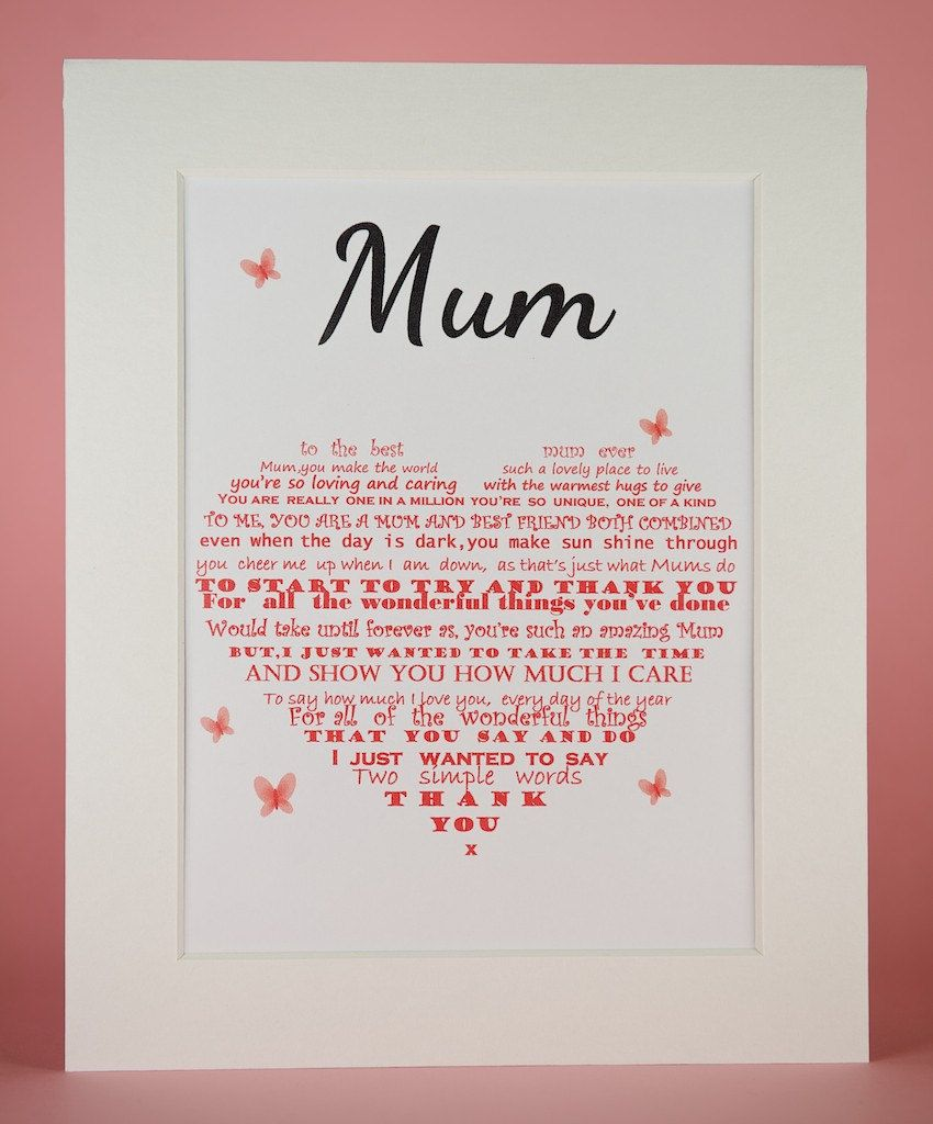 Personalised Mum Mummy Mother Mothers Mother/'s Day Gift Present Greetings Card