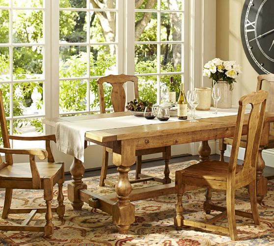 Cortona Extending Dining Table Pottery Barn Love This Table