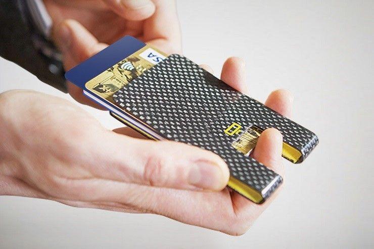 Ogon Designs Carbon Fiber 3C Card Clip NEW from France