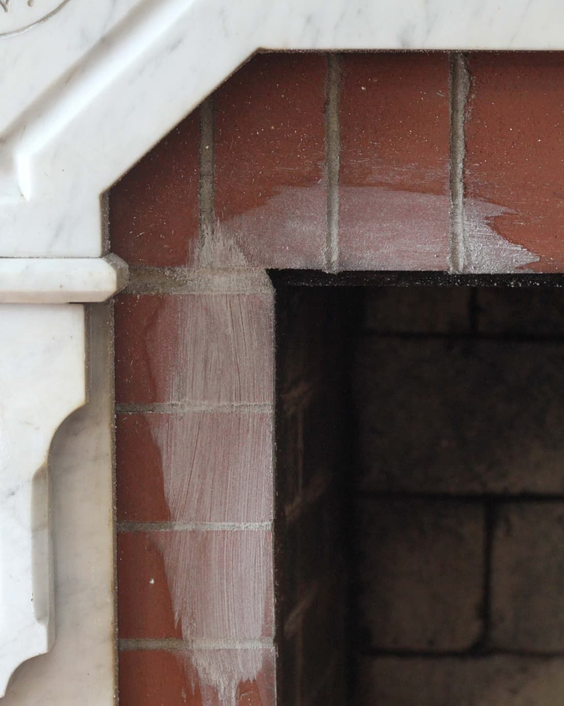 How to clean a brick fireplace with allnatural cleaners