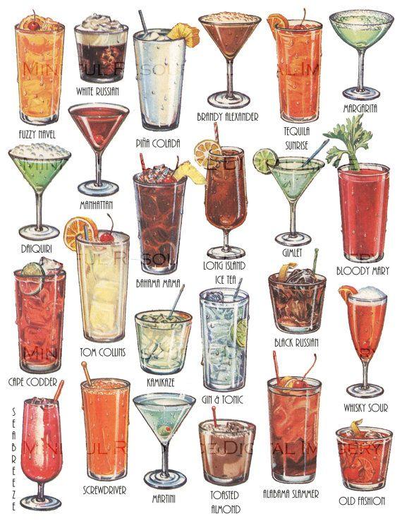 xmas cocktails names