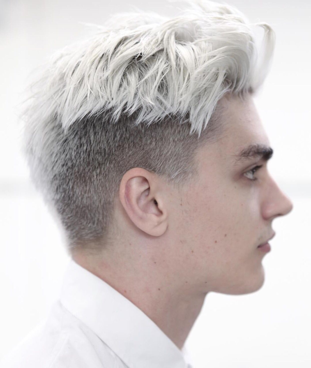 Men S Color Men Hair Color White Hair Men Mens Hair Colour