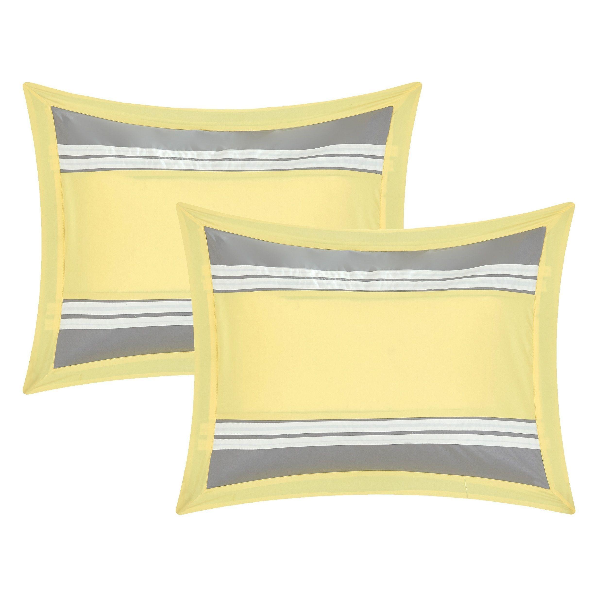 piece comforter chic yellow home set duvet woodford wayfair bath pdx reviews bed
