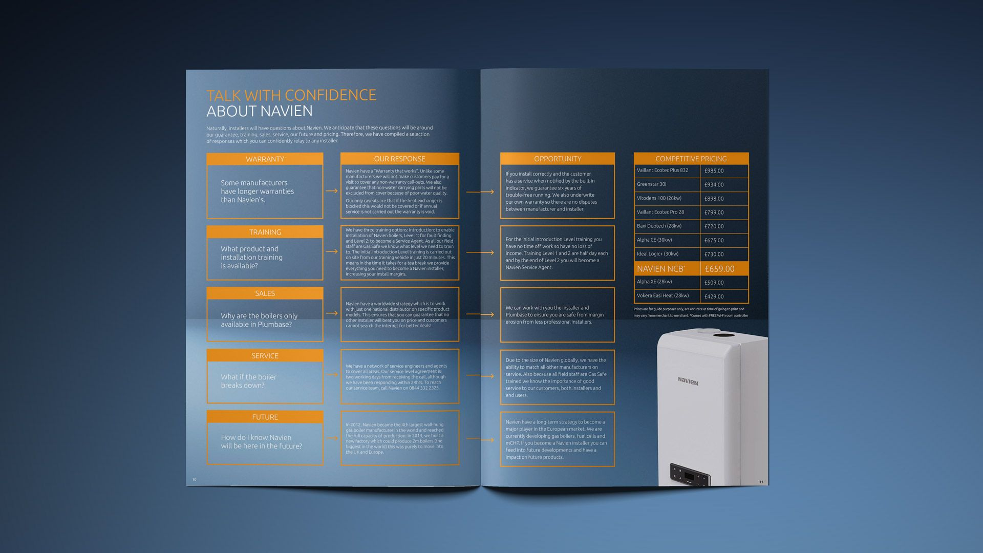 Welcoming new customers into the world of Navien. Navien is the ...