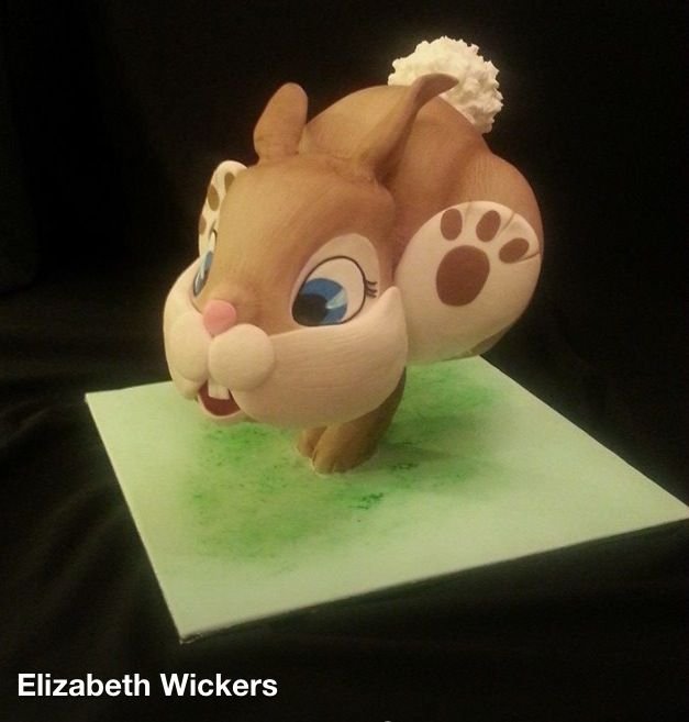 Gravity Defying Bunny Cake | Elizabeth Wickers | Adelaide, South Australia